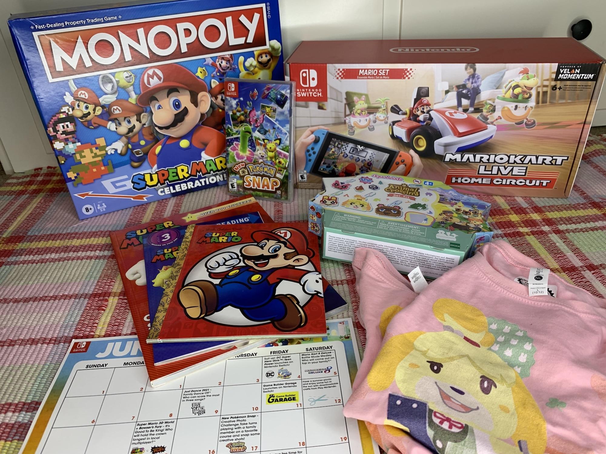 Nintendo Summer Fun Activities