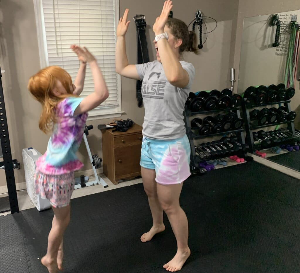 Cartwheels with B | Mommy and me monday | 591st ed