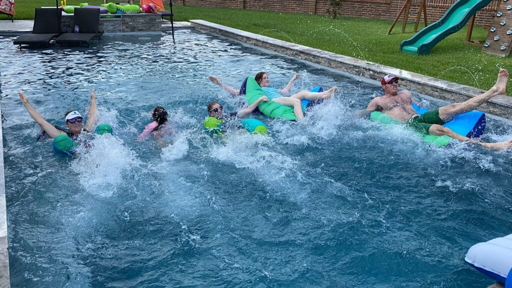 Pool Races | Mommy and Me Monday | 595th ed
