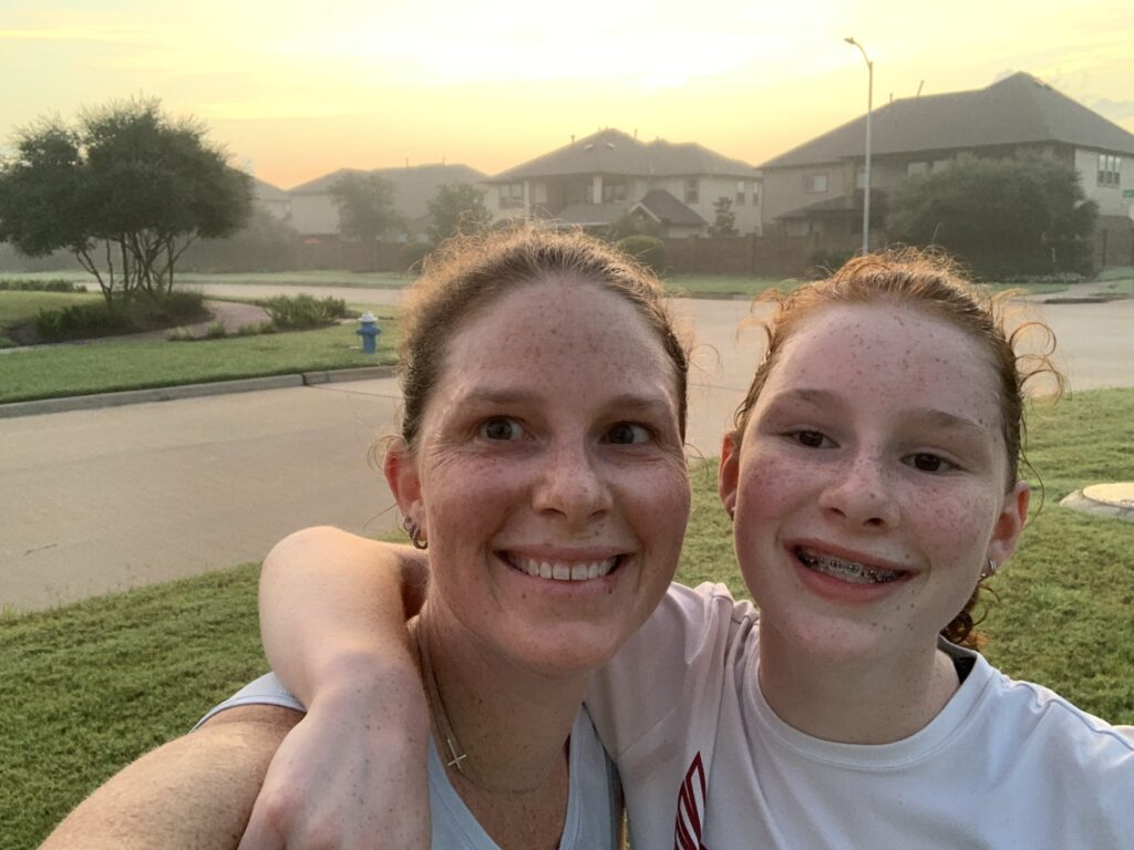 Running with N  in texas | Mommy and Me Monday | 596th ed
