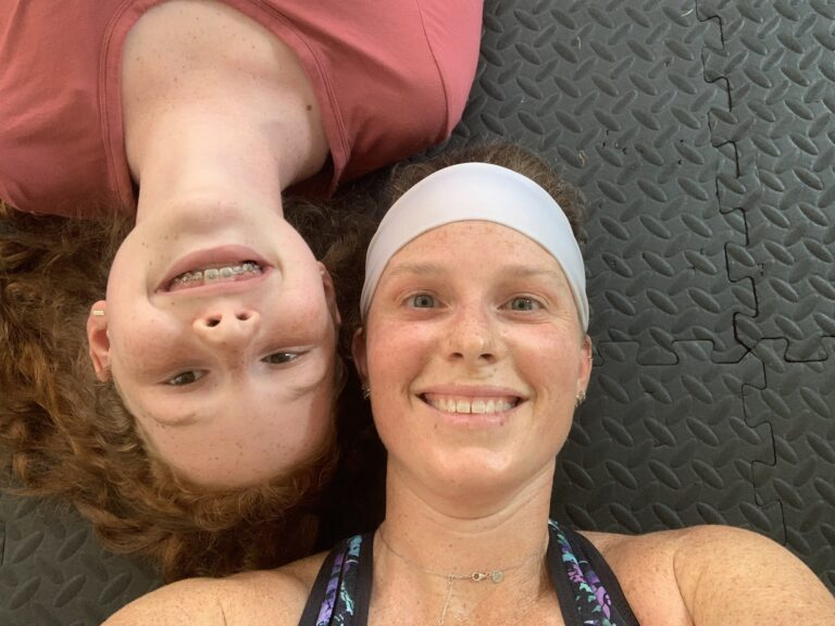 mommy and me monday on the floor after ftp test