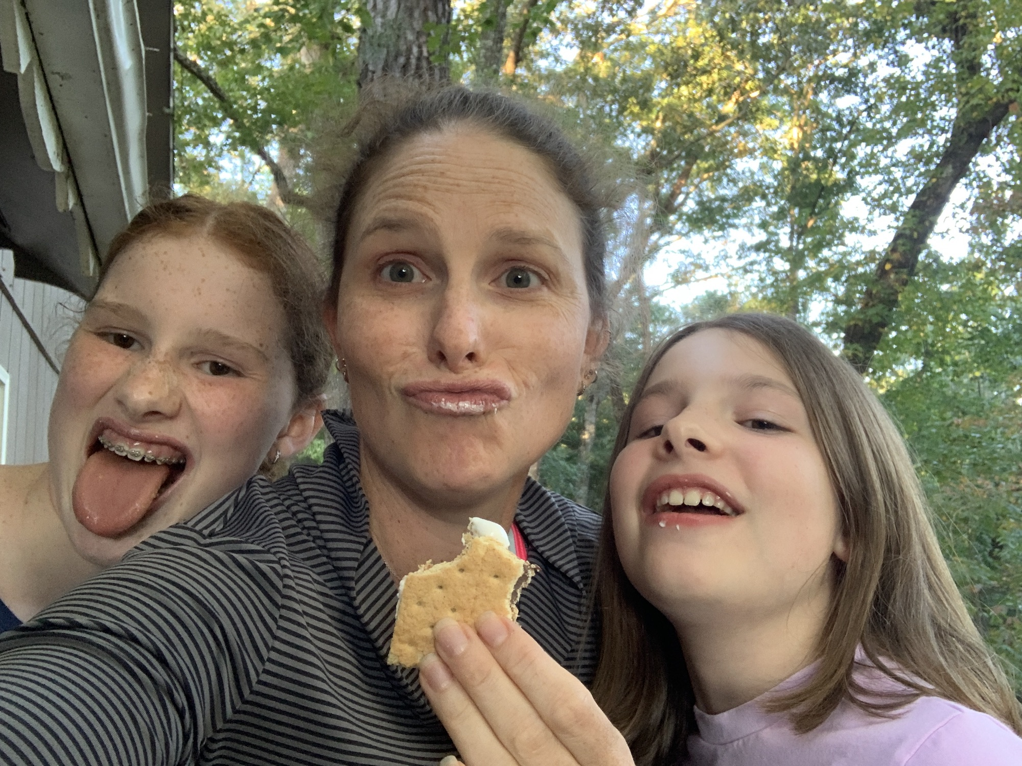dillard georgia mommy and me monday with smores